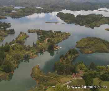 Turismo en Guatapé también depende del nivel del embalse, según investigación - La República