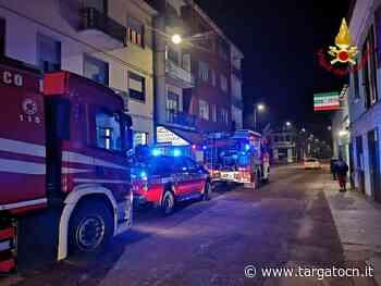 A fuoco la canna fumaria di una pizzeria da asporto a Borgonuovo di Neive: intervento dei vigili del fuoco - TargatoCn.it