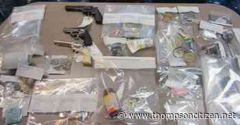 Nelson House RCMP arrest two people after seizing cocaine, pellet guns and cash - Thompson Citizen
