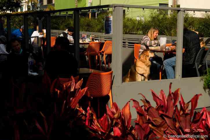 Manhattan Beach Closing Major Street To Give Restaurants Outdoor Dining Space