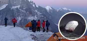 La expedición de Txikon prepara el ataque a la cumbre al final de esta semana o principios de la que viene - El Correo