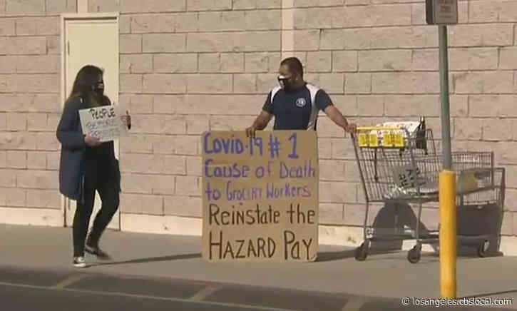 Grocery Store Workers In Long Beach Blast Kroger's Decision To Close 2 Stores As 'Retaliation,' 'Corporate Greed'