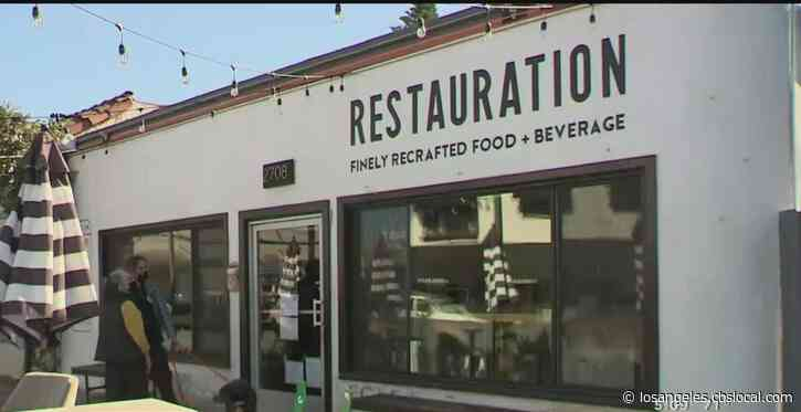 Long Beach Restaurant Owner Who Defied Outdoor Dining Ban Wants Health Permit Returned