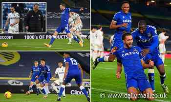 Dominic Calvert-Lewin ends goal drought as Everton beat Leeds at Elland Road