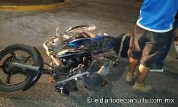 Embarran a motocicleta en la Zaragoza – El Diario de Coahuila - El Diario de Coahuila