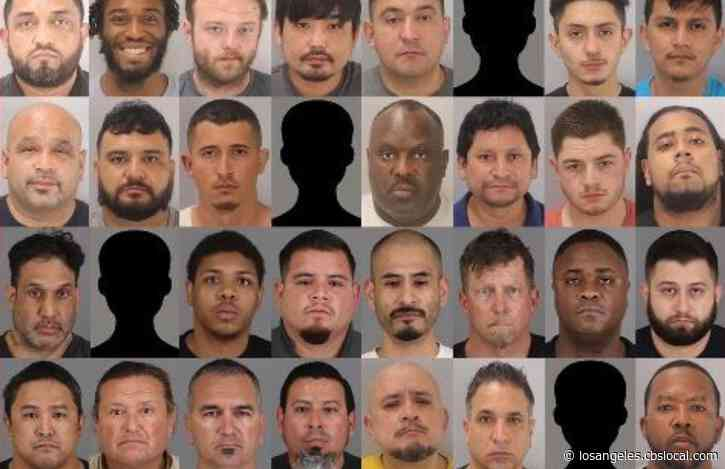 64 Arrested, 2 Women Rescued In Riverside County Sex Trafficking Sting