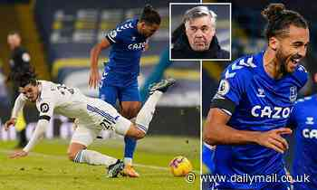 Carlo Ancelotti claims Dominic Calvert-Lewin's defensive work was more important than his goal