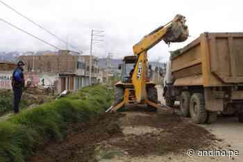 Huancayo: ejecutan trabajos de descolmatación en puntos críticos del distrito de Chilca - Agencia Andina
