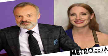 Graham Norton recounts awkward backstage moment with Jessica Chastain - Metro.co.uk