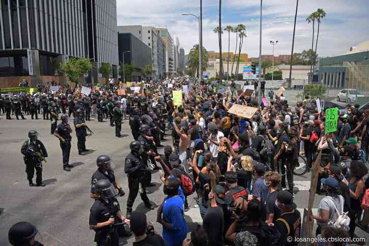 LAPD Response To George Floyd Protests To Be Reviewed
