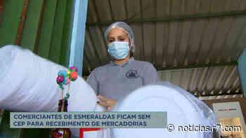 Comerciantes de Esmeraldas (MG) ficam sem CEP e não recebem produtos - R7.COM