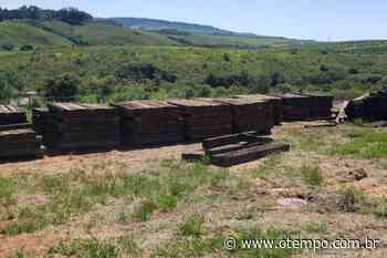 Polícia recupera em Campos Altos 830 peças furtadas de linha férrea - O Tempo