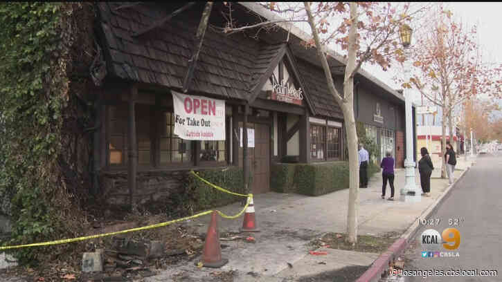 Man Arrested On Suspicion Of Setting Fire To Kathleen's Restaurant In Pasadena