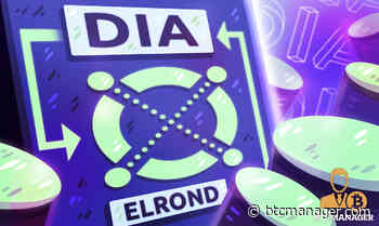 Elrond (ERD) to Integrate DIA Oracles to Access Secure Off-Chain and Cross-Chain Data   BTCMANAGER - BTCMANAGER
