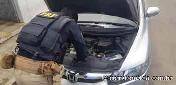 Motorista é preso em Santana do Ipanema dirigindo Honda Civic roubado - Correio Notícia
