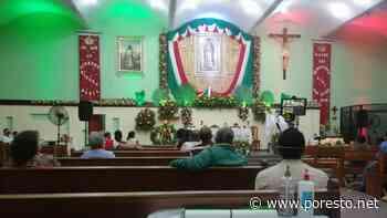 Pese al COVID-19, realizan misa en la Capilla de Guadalupe en Ciudad del Carmen - Por Esto