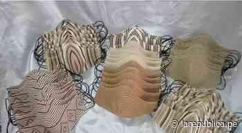 Coronavirus: artesanas confeccionan mascarillas con milenario algodón nativo en Mórrope   LRND - LaRepública.pe