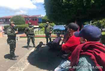 Campaña de prevención contra la extorsión en Casabianca - Alerta Tolima