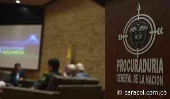 La PGN citó a juicio disciplinario al exalcalde Carlos Julio Socha - Caracol Radio