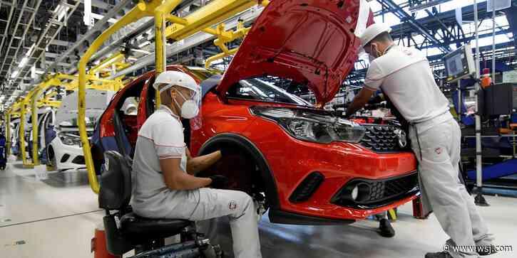 Fiat Chrysler, PSA Group Merge to Create New Auto-Making Behemoth - The Wall Street Journal