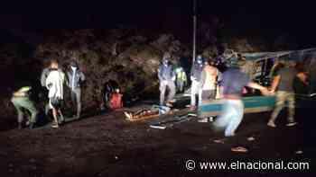 Nueve muertos en accidente de convoy militar en San Antonio del Táchira - El Nacional