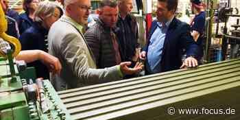 Buch am Erlbach: Marktgemeinderat informiert sich über Ziegelproduktion - FOCUS Online