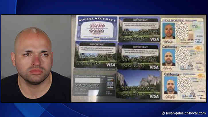 Felon's Overtinted Windows Leads To Ghost Gun, Drugs, Several Bogus EDD Cards In Glendale