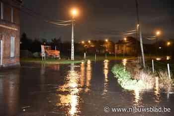 Moerstraat en Dries hebben te kampen met wateroverlast<BR />