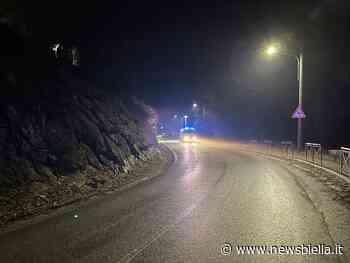 Frana a Ponzone chiusa la strada provinciale 200 - newsbiella.it