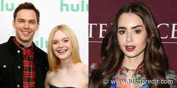 Elle Fanning, Nicholas Hoult & Lily Collins Among Golden Globes 2021 Nominees! - Just Jared Jr.