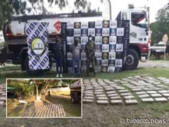 Los 6 millones de dólares en drogas que incautaron en Yumbo, Valle - TuBarco