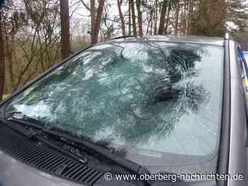 Auto von umherfliegender Eisplatte getroffen | Reichshof - Oberberg Nachrichten | Am Puls der Heimat.