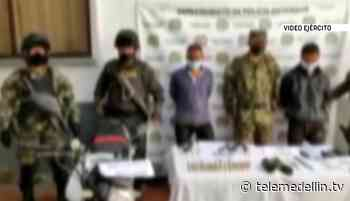 Capturan a dos presuntos responsables de un homicidio en Yarumal - Telemedellín