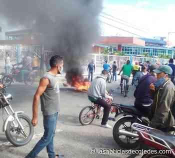 ¡Ahora! Conductores en protestaron para exigir venta del combustible en Tinaquillo - Las Noticias de Cojedes