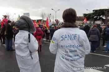 Chilly-Mazarin : mobilisation sur le site de Sanofi contre la suppression de 364 postes - Le Parisien