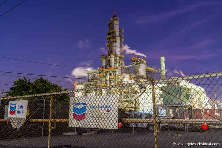 El Segundo Chevron Refinery Cited For Hydrogen Sulfide Release Into Air