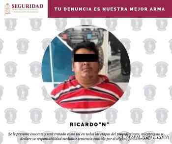 Detienen a sujeto en la ranchería Río Viejo, Centro, acusado del delito de homicidio - XeVT