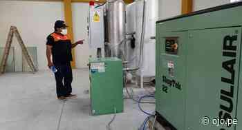 Entra en funcionamiento nueva planta de oxígeno ubicada en hospital de Ferreñafe - Diario Ojo