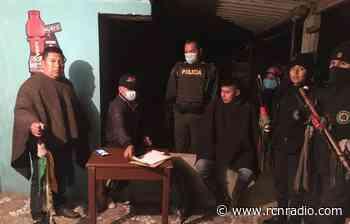 Concejal de Totoró, en el Cauca, denuncia que lo iban a secuestrar - RCN Radio