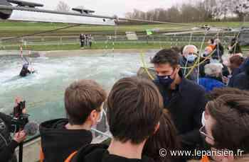 Vaires-sur-Marne : Tony Estanguet estime que «80% des jeunes ne font pas assez de sport» - Le Parisien