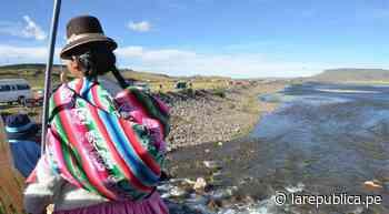 Serenos y policías salvan a pareja que cayó al río Ilave en Puno - LaRepública.pe