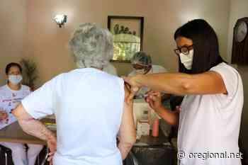Vacinação em idosos institucionalizados foi iniciada em Itapira - O Regional
