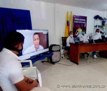 Empieza primer periodo de sesiones del Concejo en Arenal del Sur - El Universal - Colombia