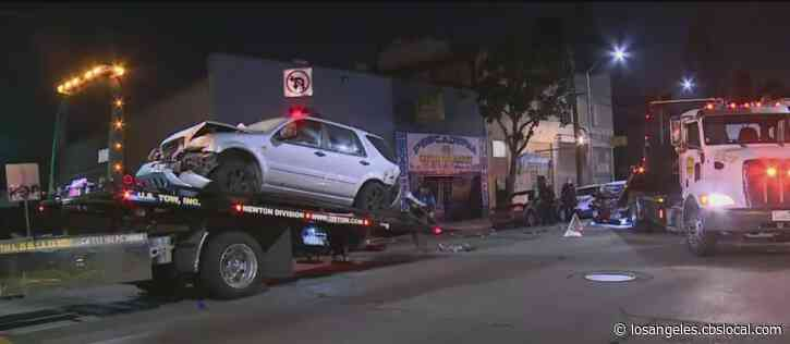 Man Killed, 2 Injured During Towing Collision In South LA