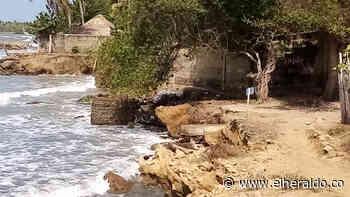 Alerta en San Bernardo del Viento por avance de la erosión marina - EL HERALDO