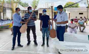 Pescadores artesanales de Yaguará recibieron dotación de trabajo - Noticias