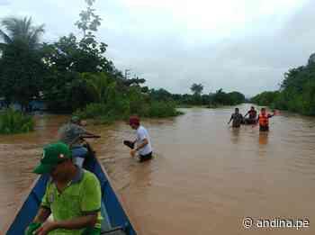Pasco: lluvias intensas provocan alud y desborde de dos ríos en Oxapampa - Agencia Andina