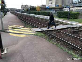 Yvelines. Maule : l'adolescent tué par un train traversait les voies sur un passage piéton - actu.fr