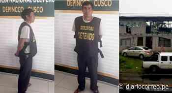 Cae el 'Monstruo de Urubamba', acusado de feminicidio y secuestro de menor en Cusco - Diario Correo