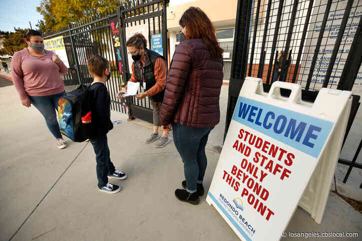 Fullerton Joint Union High School District To Reopen Campuses In Mid-February